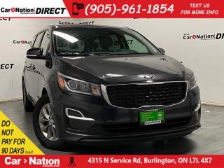 Used 2019 Kia Sedona LX| HEATED SEATS & STEERING WHEEL| POWER SEAT| for sale in Burlington, ON