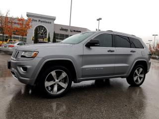 Used 2015 Jeep Grand Cherokee Overland for sale in Surrey, BC
