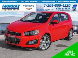 Used 2016 Chevrolet Sonic LT Auto for sale in Winnipeg, MB