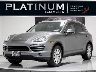 Used 2014 Porsche Cayenne AWD, NAVI, HEATED/COOLED SEATS, SUNROOF, for sale in Toronto, ON