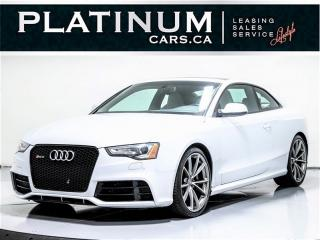 Used 2014 Audi RS 5 4.2 quattro, 450 HP, TECHNIK, NAVI, BANG & OLUFSEN for sale in Toronto, ON
