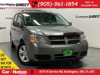 Used 2009 Dodge Grand Caravan SE  AS-TRADED  ONE PRICE INTEGRITY  for sale in Burlington, ON