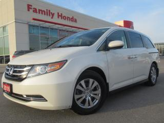 Used 2016 Honda Odyssey EX w/RES | EXTENDED WARRANTY UP TO 100, 000 KMS!! for sale in Brampton, ON