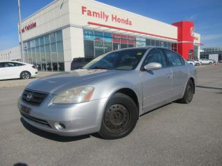 Used 2003 Nissan Altima S | MULTI-FUNCTIONAL AUDIO SYSTEM | for sale in Brampton, ON