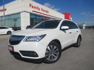 Used 2016 Acura MDX TECH PACKAGE | REAR ENTERTAINMENT SYSTEM | NAVI | for sale in Brampton, ON