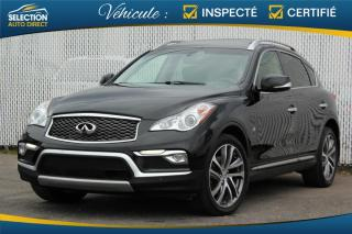 Used 2016 Infiniti QX50 Traction intégrale, 4 portes for sale in Ste-Rose, QC