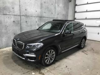 Used 2018 BMW X3 XDRIVE * APPLE CARPLAY * TOIT OUVRANT * CUIR * BLUETOOTH * SIEGES CHAUFFANT for sale in St-Nicolas, QC