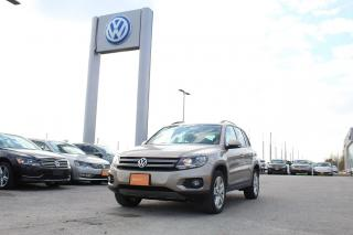Used 2016 Volkswagen Tiguan COMFORTLINE for sale in Whitby, ON