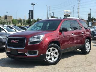 Used 2015 GMC Acadia AWD SLE1 Brand NEW Tires|Rear CAM|LOW KM| for sale in Mississauga, ON