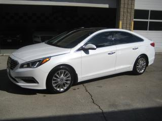 Used 2015 Hyundai Sonata NAV/LEATHER/PANO ROOF/ADAPT CRUISE/BLIND SPOTT for sale in North York, ON