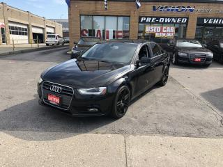 Used 2013 Audi A4 4dr Sdn Auto Premium Quattro for sale in North York, ON