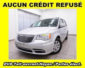 Used 2012 Chrysler Town & Country TOURING TOIT OUVRANT HAYON ET PORTES ÉLECT. *DVD* for sale in St-Jérôme, QC