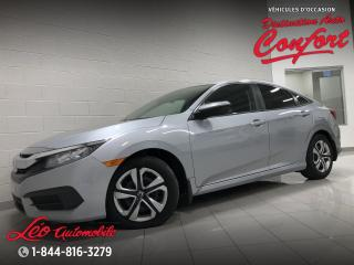 Used 2017 Honda Civic LX 4 portes CVT for sale in Chicoutimi, QC