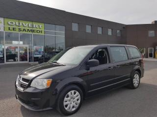Used 2016 Dodge Grand Caravan SE, 2 ZONE A/C, TISSUS, STOW N' GO for sale in Chambly, QC
