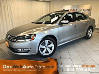 Used 2014 Volkswagen Passat 2.0 TDI Comfortline, Toit, Automatique for sale in Sherbrooke, QC