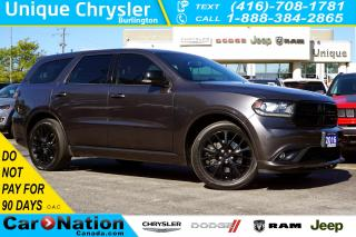 Used 2016 Dodge Durango R/T| 5.7HEMI| BLACKTOP PKG| NAV| NAPPA LEATHER for sale in Burlington, ON