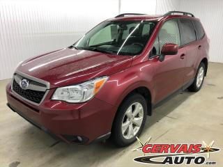 Used 2015 Subaru Forester AWD MAGS CAMÉRA SIÈGES CHAUFFANTS BLUETOOTH for sale in Trois-Rivières, QC