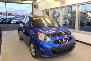 Used 2018 Nissan Micra SV AUTOMATIQUE MAIN LIBRE AIR CLIMATISÉ for sale in Lévis, QC
