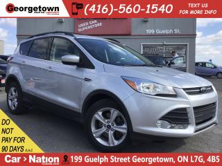 Used 2015 Ford Escape SE | 4X4 | BU CAM | HTD SEATS|BLUTOOTH|ALLOYS|FOGS for sale in Georgetown, ON