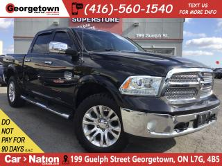 Used 2016 RAM 1500 Longhorn | 5.7 HEMI|RARE|NAVI|BU CAM|LTHR|TOW PKG for sale in Georgetown, ON