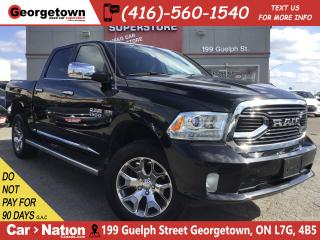 Used 2017 RAM 1500 LARAMIE LTD |RAMBOX|5.7L|ROOF| NAVI|BU CAM|LTHR for sale in Georgetown, ON