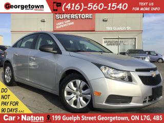 Used 2012 Chevrolet Cruze LS | AUTO | BLU TOOTH | POWER GROUP | for sale in Georgetown, ON
