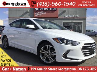 Used 2017 Hyundai Elantra GLS |ROOF|BLINDSPT|HTD REAR SEATS|BUCAM|ALLOYS for sale in Georgetown, ON
