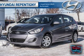 Used 2014 Hyundai Accent GL 5 PORTES**A/C, GROUPE ÉLECTRIQUE, BLUETOOTH** for sale in Repentigny, QC