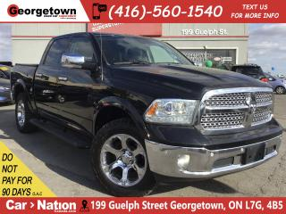 Used 2016 RAM 1500 Laramie| DIESEL|4X4|LEATHER|BU CAM|TRAILER BRK for sale in Georgetown, ON