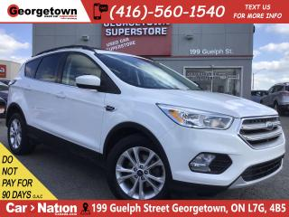 Used 2017 Ford Escape SE | BLUTOOTH | BU CAM | ALLOYS | FOGS | HTD SEATS for sale in Georgetown, ON