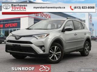 Used 2017 Toyota RAV4 XLE  - Sunroof -  Heated Seats - $174 B/W for sale in Ottawa, ON