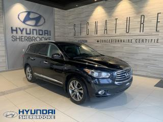 Used 2015 Infiniti QX60 TECH+AWD+GPS+DVD/TV+CAMERA 360+2 TOITS for sale in Sherbrooke, QC