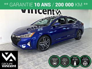 Used 2019 Hyundai Elantra SPORT ** LIQUIDATION 2019 ** Liquidation 2019! for sale in Shawinigan, QC
