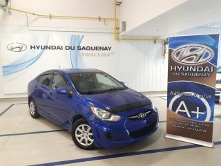 Used 2012 Hyundai Accent L/PNEUS HIVER INCLUS for sale in Jonquière, QC