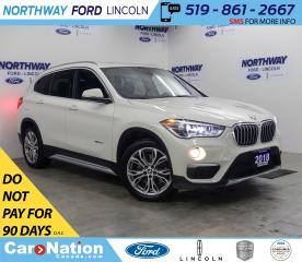 Used 2018 BMW X1 xDrive28i | AWD | LEATHER | PANOROOF | PUSH START for sale in Brantford, ON