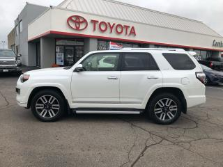 Used 2018 Toyota 4Runner Limited 7 passenger leather navigation for sale in Cambridge, ON