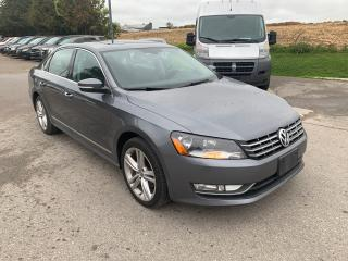 Used 2013 Volkswagen Passat Highline TDI NAV/remote start/backup for sale in Waterloo, ON