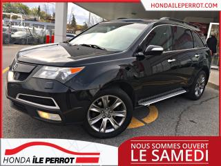 Used 2010 Acura MDX Tech élite GPS, DVD, CUIR, TOIT for sale in Île-Perrot, QC