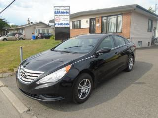 Used 2011 Hyundai Sonata GL for sale in Ancienne Lorette, QC