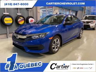 Used 2017 Honda Civic LX * AUTO* SIEGES CHAUFFANTS * CAMERA RECUL for sale in Québec, QC