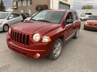 Used 2010 Jeep Compass 4 cylindres 4x4 for sale in Pointe-Aux-Trembles, QC