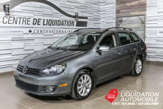 Used 2013 Volkswagen Golf Wagon COMFORTLINE+TOIT for sale in Laval, QC