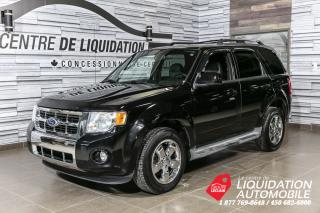 Used 2010 Ford Escape Limited for sale in Laval, QC