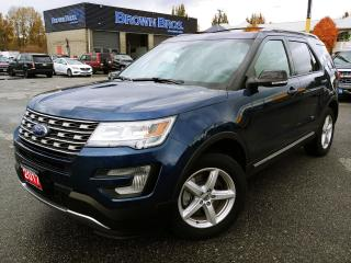 Used 2017 Ford Explorer XLT,LOCAL, NAVIGATION, MOONROOF, 7 PASS for sale in Surrey, BC