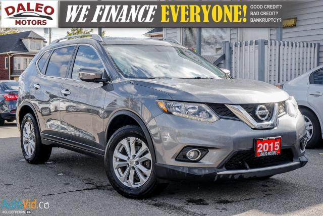 2015 Nissan Rogue S | AWD | PANO ROOF | BACKUP CAM | ONE OWNER