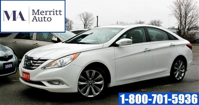 2011 Hyundai Sonata Limited w/Nav| Certified| Loaded| No Accidents