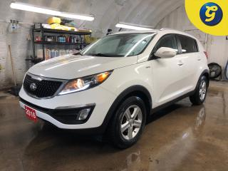 Used 2016 Kia Sportage AWD * Heated front seats * Automatic headlights with fog lights * Intermittent front and rear wipers * Downhill assist * Economy mode * Telescopic/til for sale in Cambridge, ON