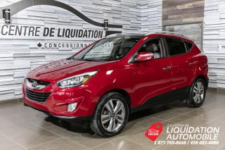 Used 2014 Hyundai Tucson Limited+GPS+AWD+CUIR for sale in Laval, QC