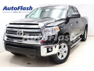 Used 2016 Toyota Tundra SR5 TRD-Off-Road *Double-Cab *Camera *Clean! for sale in St-Hubert, QC