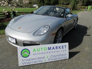 Used 2005 Porsche Boxster BEAUTIFUL, AUTO, INSP, BCAA MBSHP, WARRANTY for sale in Surrey, BC
